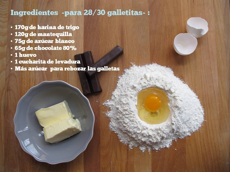 Galletas chocolate fundente_ingredientes_larestano