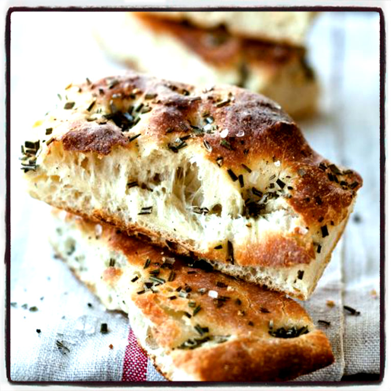focaccia simple_larestano